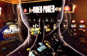 illustration video poker